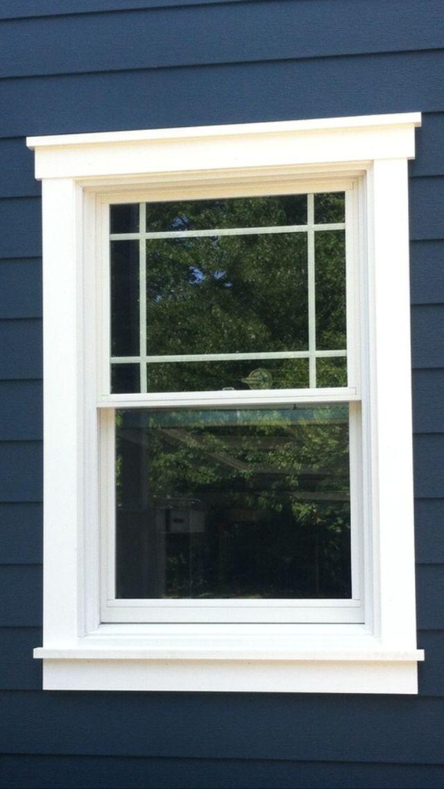 How to choose the best exterior window trim for your home - Vinyl trim around exterior windows ...