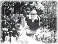 Vera Karalli and Vitold Polonsky in THE DYING SWAN (1917)