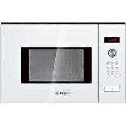 Bosch HMT75M624B White Built-in Microwave Oven For 60cm Wide Cabinet