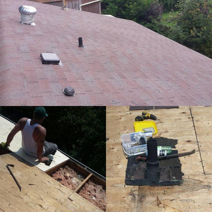 "1-855-wanna-reno? TM (@1855wannareno) on Instagram: ""Roofing job done in Pickering. Vent Turbine - plywood installation -Shingles installation.…""#roofingwhitby #roofingdurham #roofingpickering #turbineventinstallation #shinglesinstallation #roofrepair #roofingajax #roofingcourtice #ventturbineinstallation #roofingoshawa www.1855wannareno.com"