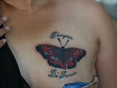 Dark Butterfly Tattoo ~ http://tattooeve.com/the-butterfly-tattoo-designs/ Tattoo Design