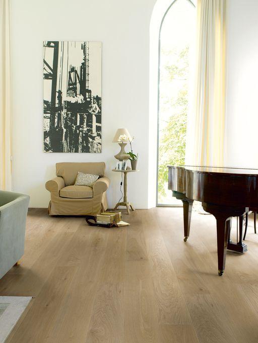 QuickStep Palazzo Engineered Flooring Champagne Oak, Oiled, 190x3x14 mm, QuickStep Parquet - Wood Flooring Centre