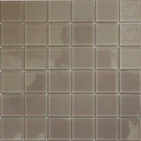 Latte Polished Glass Mosaic 300x300mm