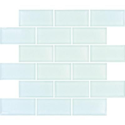 MS International Arctic Ice Subway 12 in. x 12 in. x 8 mm Glass Mesh-Mounted Mosaic Tile-GLSST-AI8MM at The Home Depot