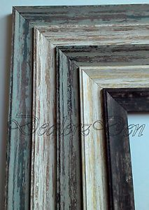 Shabby-Chic-Distressed-WOOD-EFFECT-PICTURE-POSTER-PHOTO-FRAME-SIZES-A1-A2-A3-A4 A4 = £6.99 free collect Argos
