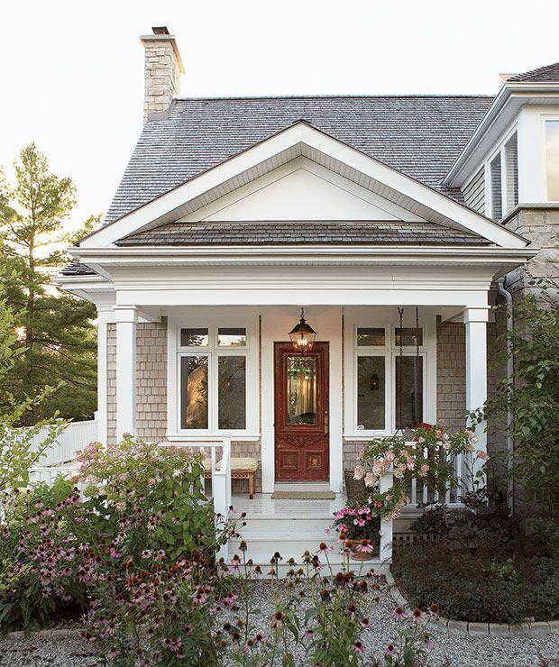 photos 15 fa ons d am liorer votre fa ade de maison curb appeal. Black Bedroom Furniture Sets. Home Design Ideas