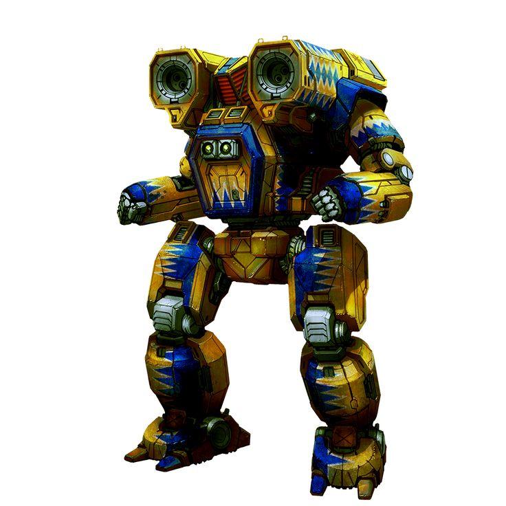mwo origins hunchback iic mecha madness pinterest robot and