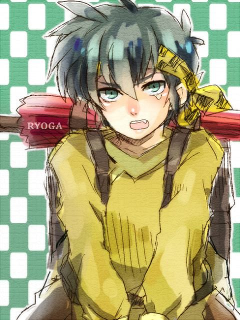Ryoga ~ Fansite:http://eluniversoderanma.wix.com/eluniversoderanma - Todo sobre Ranma ½! Tags: eluniversodeRanma, Ranma 1/2, Akane, Fanart, Ranma Saotome, Ranma ½, Rumiko Takahashi