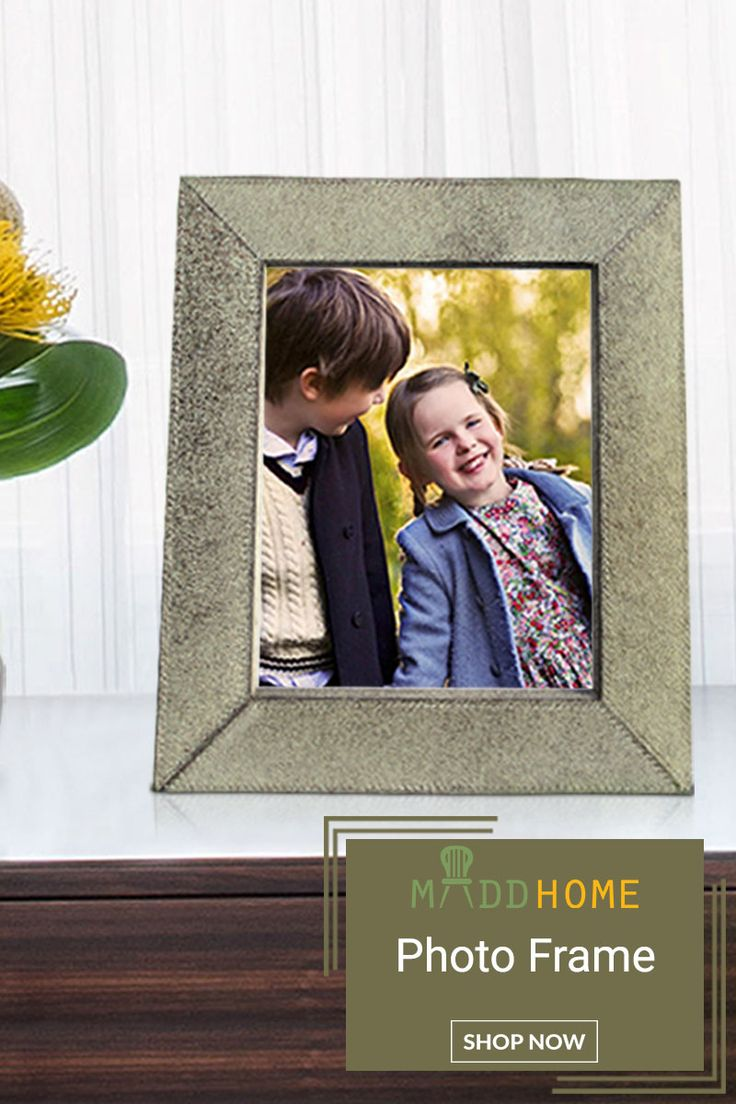 Leather Photo Frame. Offer Price INR 3,112 only.