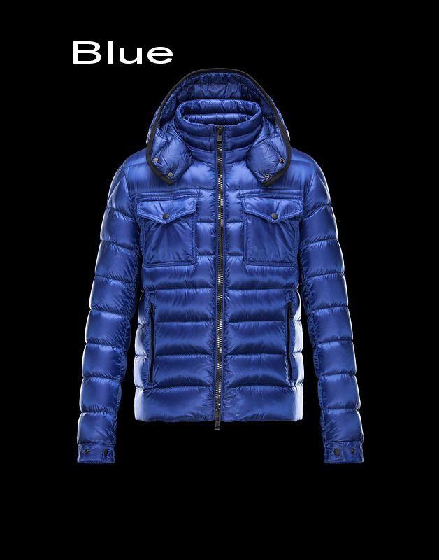 0d006474f41 Moncler Edward Men Doudoune Legere Detachable Hood Jacket Outlet Blue
