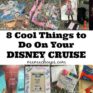 Definitely going to use these tips!!!! 8 Cool Things to Do on Your Disney Cruise, http://www.mamacheaps.com/2014/03/8-cool-things-to-do-on-your-disney-cruise.html