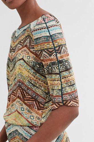 EDC / Soepele jurk met etnische print