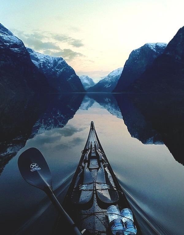 landscaps, kayak