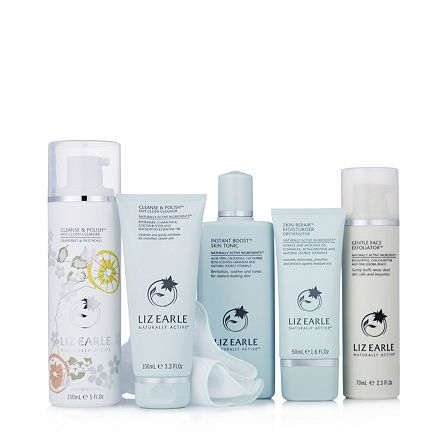 Liz Earle 5 Piece Invigorate Your Senses Skincare Collection order online at QVCUK.com