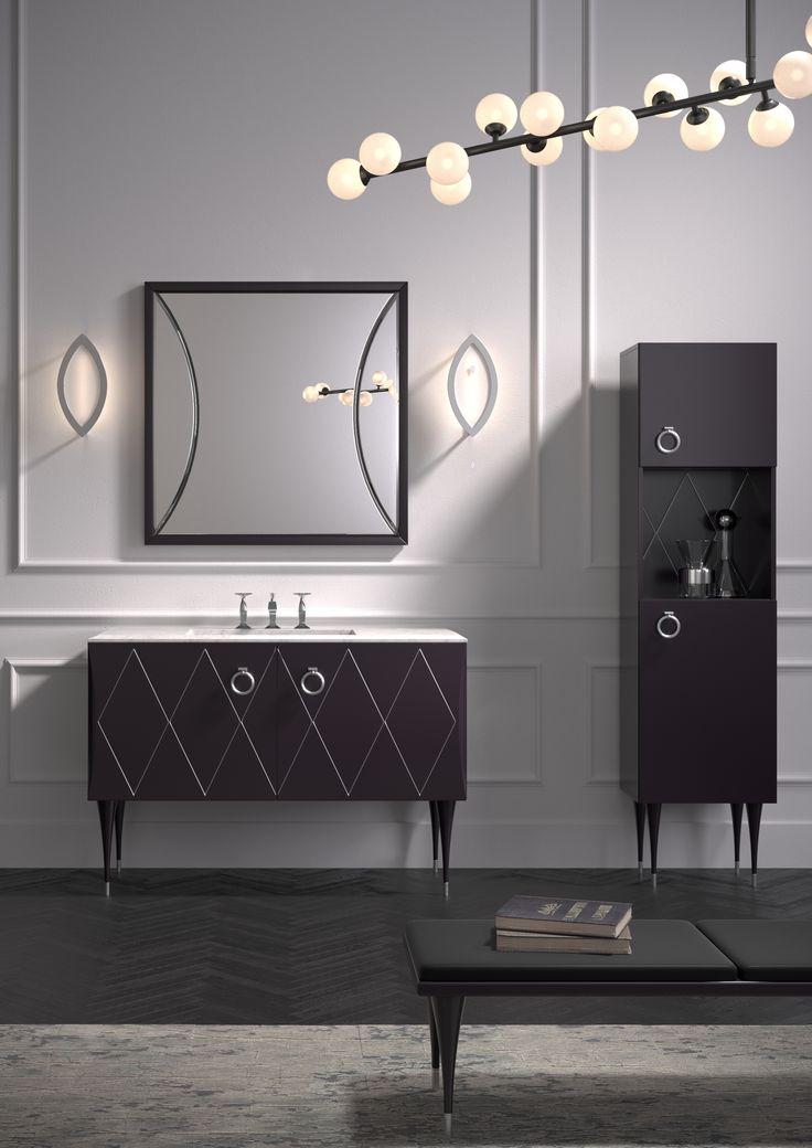 Park Avenue - furniture for bathroom by Dima Loginoff for italian brand Mia Italia dimaloginoff.com miaitaliabath.it