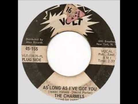 """Charmels """"As Long As I've Got You""""  45"""