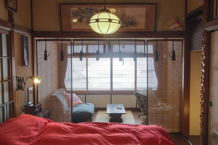 king size double person bed on 2cd floor