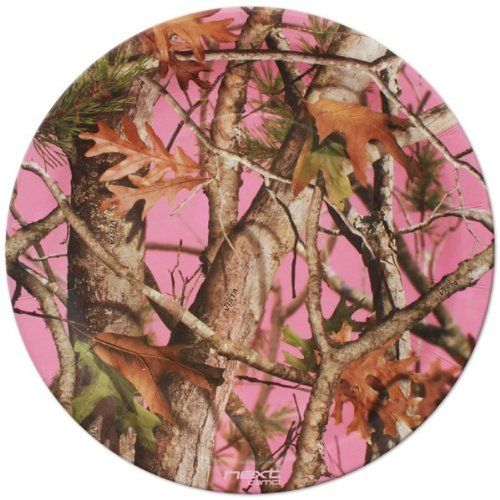 NEXT Camo Pink Dinner Plates (8) - OMJ Outdoors