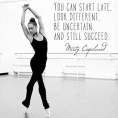 Misty Copeland Quote – #affirmations #Copeland #Mi…