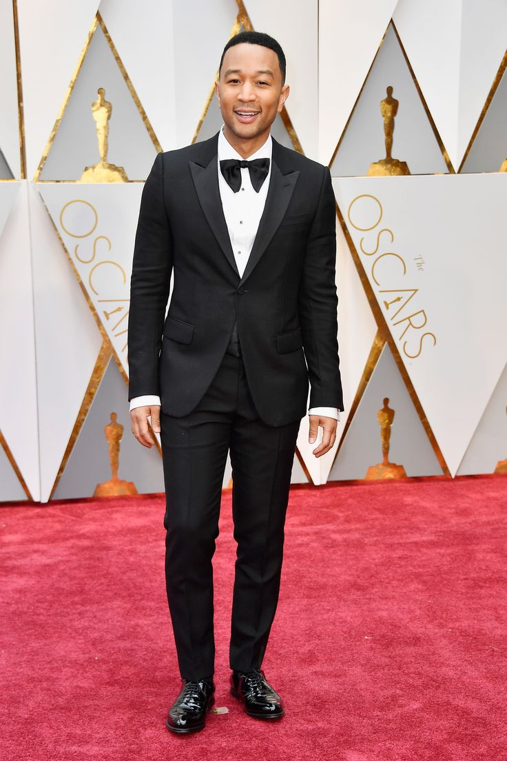 John Legend in Gucci attends the 89th Annual Academy Awards at Hollywood & Highland Center on February 26, 2017 in Hollywood, California.