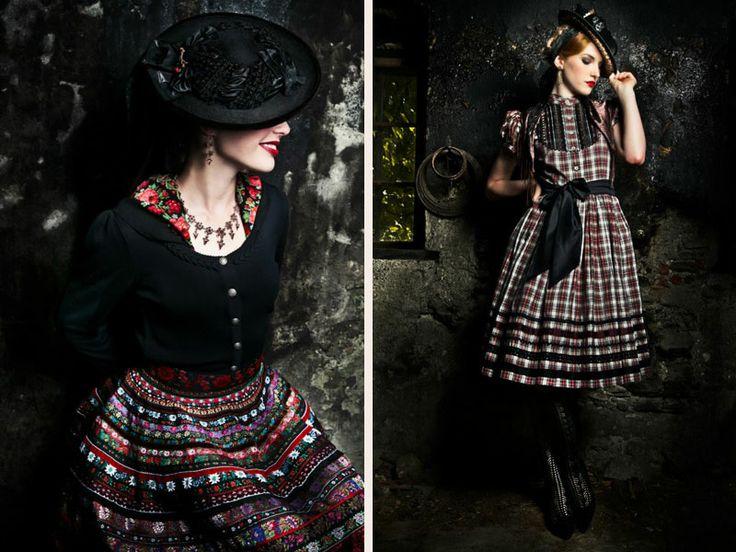 Q's Daydream: Lena Hoschek Dirndl A/W 2012/13 - want, want, want!