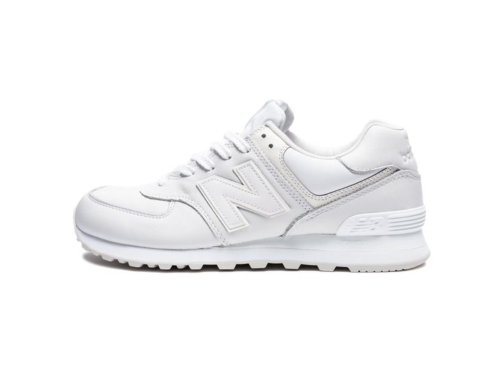 NEW BALANCE 574 - WHITE OUT