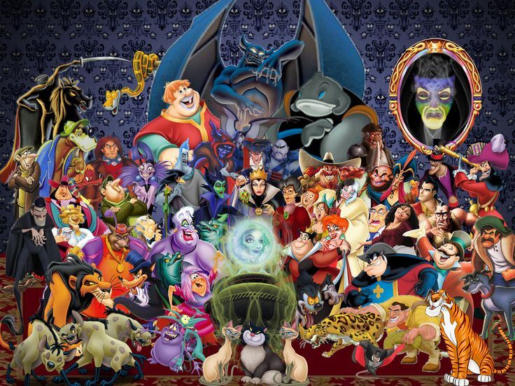 Disney Villains Wallpaper by ~disneyfreak19 on deviantART
