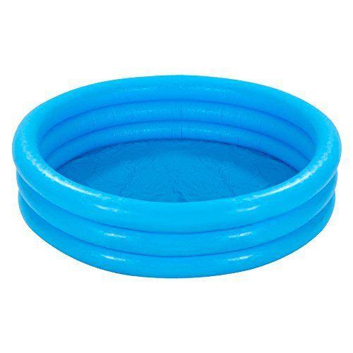 Intex 58446NP Piscine Gonflable Vinyle Bleu Cristal 1.68m x 38cm: Intex 58446NP Piscine Gonflable Vinyle Bleu Cristal 1.68m x 38cm –…