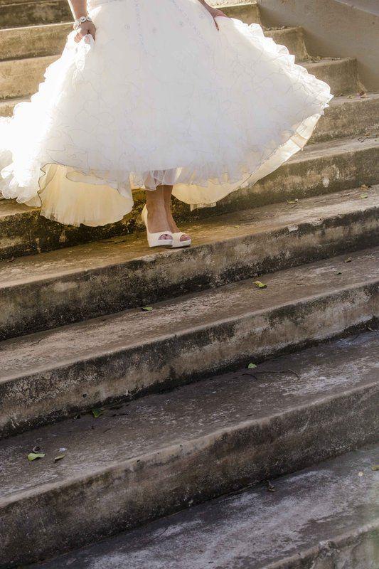 Wedding shoes Photo By Trompie Van der Berg Photography
