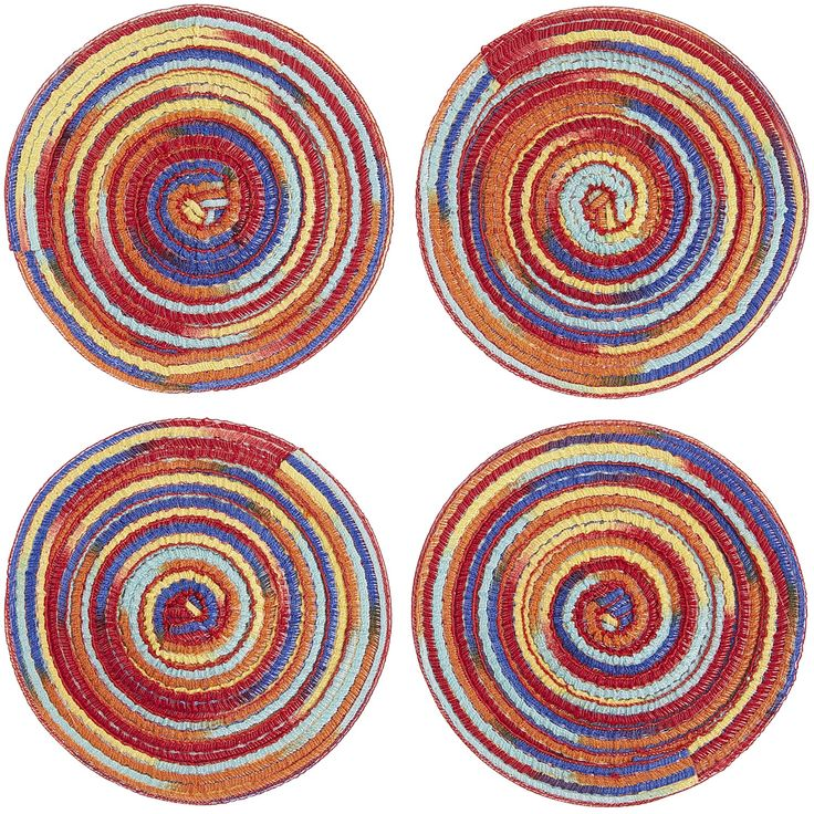 Mesa Coaster Set   Rainbow