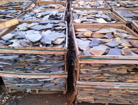 Piedras naturales piedra pizarra piedra laja adoquines for Piedra natural pizarra