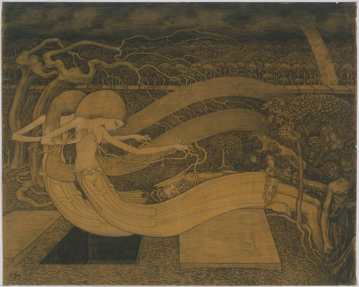 O Grave, where is thy Victory? | Jan Toorop | 1892 | Rijksmuseum | Public Domain