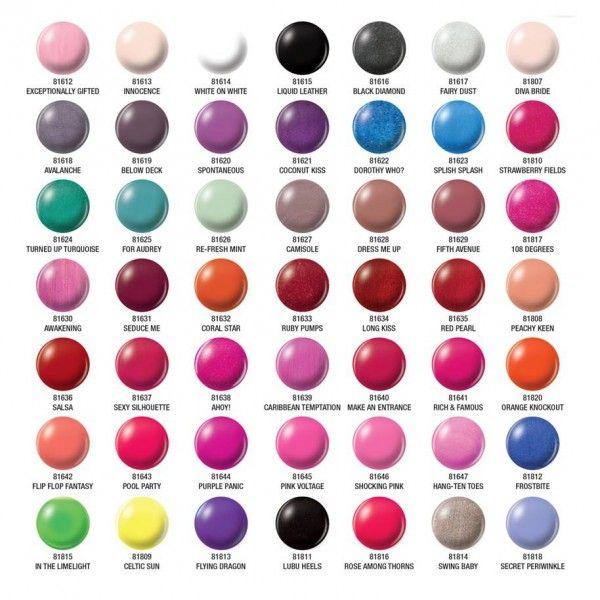 31 best Gel Polish Colors images on Pinterest