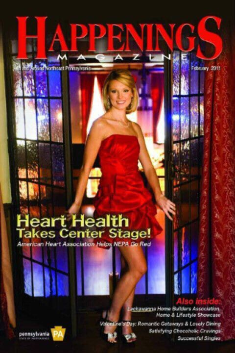 Sharla Mcbride On The Cover Of Happenings Magazine