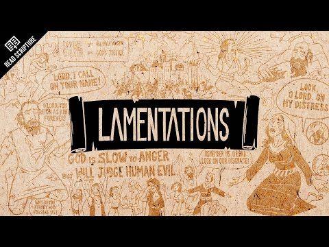 Read Scripture: Lamentations - YouTube