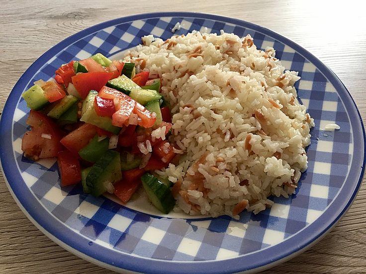 Türkischer Reis, ein sehr schönes Rezept aus der Kategorie Reis/Getreide…