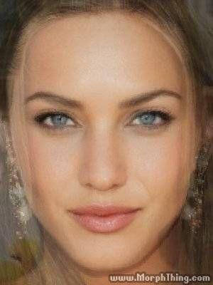 Angelina Jolie, Jennifer Aniston, Megan Fox, Miranda Kerr (Morphed) - MorphThing.com