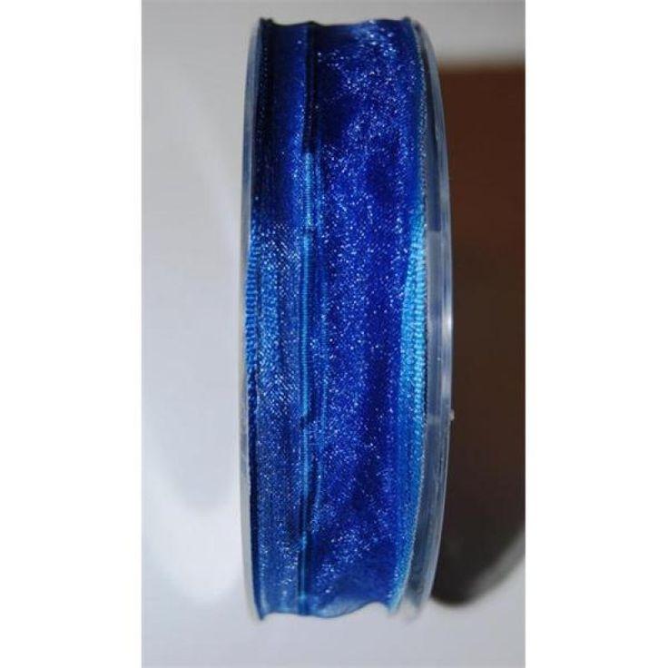 Promenade szalag 25mmx20m ultramarin kék