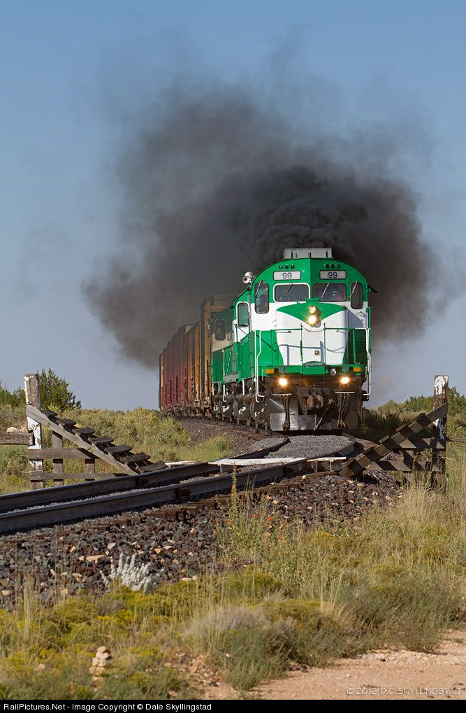 RailPictures.Net Photo: APA 99 Apache Railway MLW C424 at Snowflake, Arizona by Dale Skyllingstad