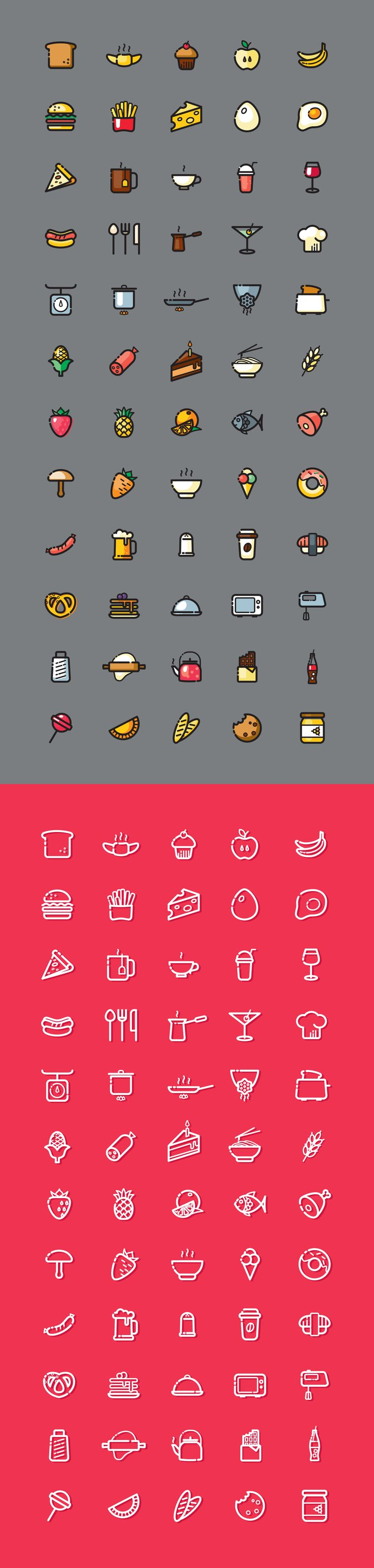 Food Icons                                                                                                                                                     More