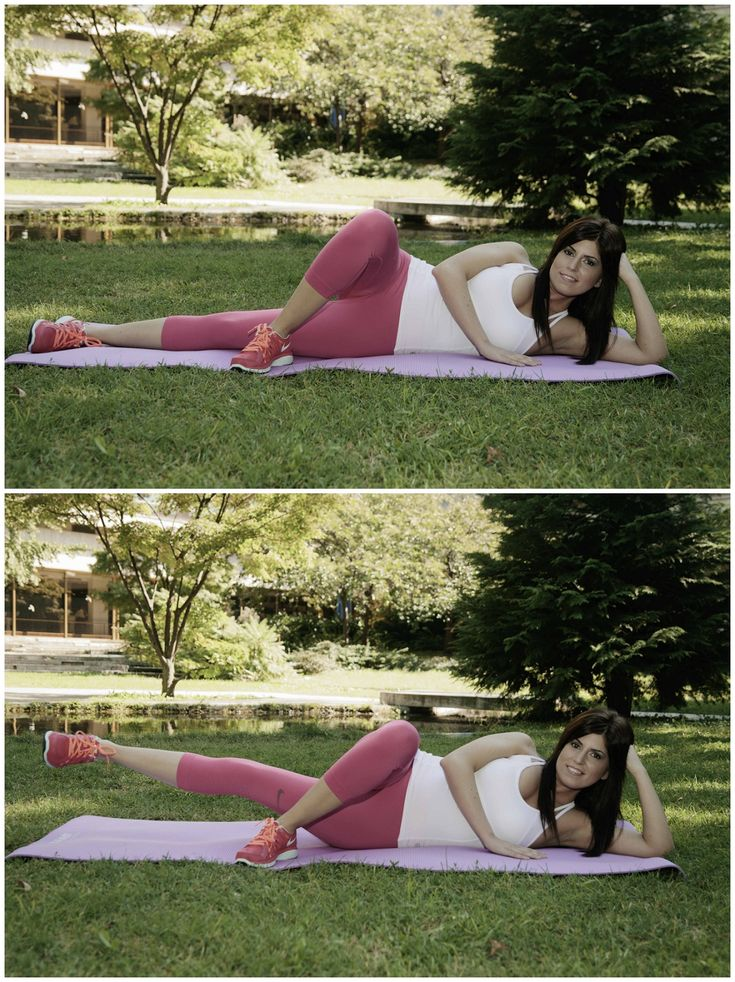 Inner thigh exercises part. 1