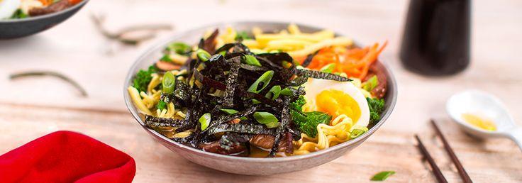 Spicy Vegetarian Ramen