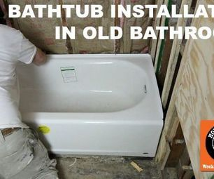 Bathtub Replacement in Old Bathrooms: Our Step-by-Step Guide ~~Step by Step Video~~