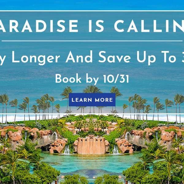Vacation Resort In The Bahamas Atlantis Paradise Island Reisen