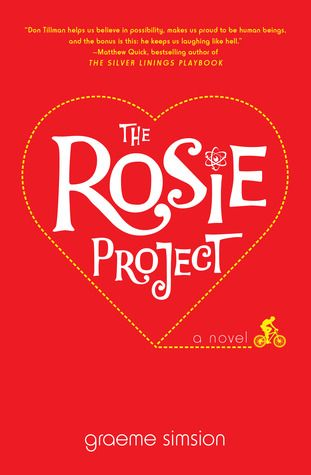 The Rosie Project is a book I listened to on audio - laugh out loud funny. Read my 4 Star review on Dine & Dish