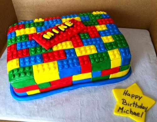 Lego Design Birthday Cake : 22 best images about Lego Party Ideas on Pinterest ...
