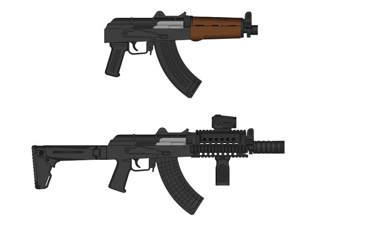 Before and After: Zastava M92 PAP Conversion by madmonty98