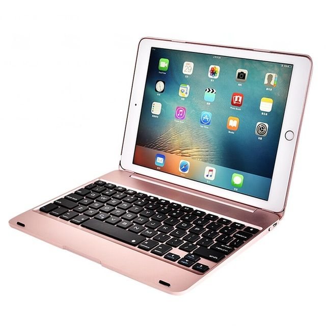 "For ipad keyboard ,Wireless Bluetooth ABS plastic Clamshell for the new iPad Pro 9.7( ipad air 2 ipad 6) "" Keyboard Folio Style"
