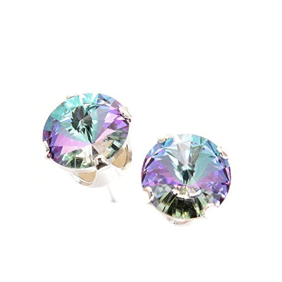 ffa127ff7f19a pewterhooter Sterling Silver Stud Earrings Expertly Made With ...