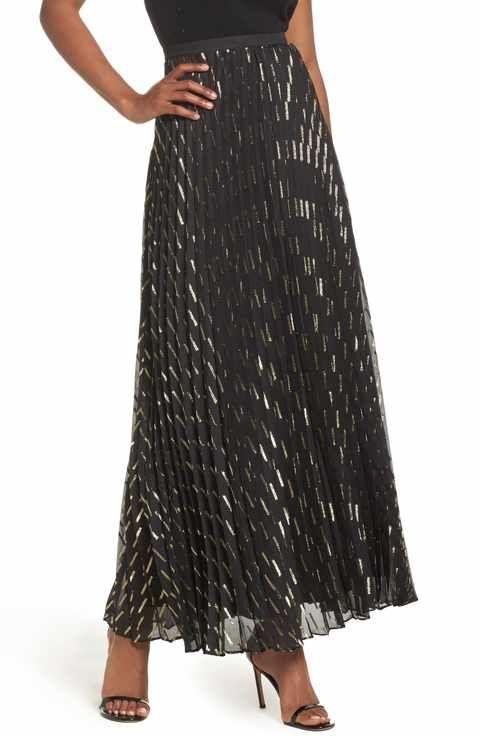 how to make a chiffon a line maxi skirt